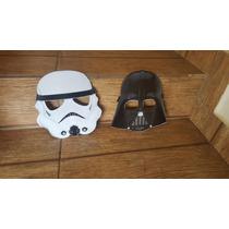 Mascara Star Wars Mdf Kit Com 2 Pecas