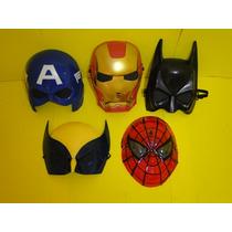 05 Mascaras America Batman Volverine Homem Ferro Aranha