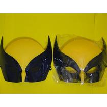 02 Mascaras Wolverine Volverine Xman Vingador Infantil