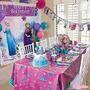 Festa Frozen Painel Balões Enfeites Mesa Teto-toalha Velas