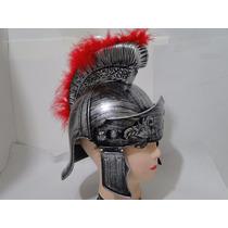 Luxo Super Elmo Capacete Soldado Roma Gladiador Traje Roupa