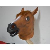 Máscara De Cabeça De Cavalo Látex Cosplay - No Brasil
