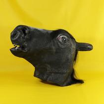 Máscara Cabeça De Cavalo Preto / Cosplay Latex