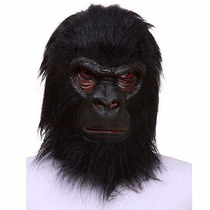 Máscara De Gorila Excelente Material E Super Realista!