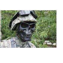 Mascara Caveira Proteção Airsoft Paintball Tatica