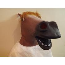 Mascara De Cavalo Em Látex-pronta Entrega-melhor $$$