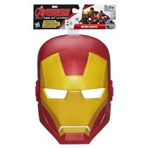 Máscara Avengers Era De Ultron Iron Man Homem De Ferro Hasbr