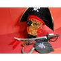 Fantasia Jack Sparrow Caribe Pirata Espada E Mini Arma