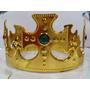 3 Coroa Rei Rainha Plástica Ajustável Festa Fantasia Cosplay