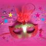 Máscara Para Festas, Bailes A Fantasia E Carnaval Kit 3 Un