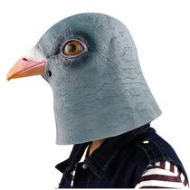 Máscara Em Látex Cabeça De Pombo Pomba Realista Horse Mask