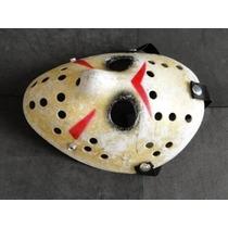 Kit Halloween Mascara Jason Facão Chapeu Luva Garra Freddy