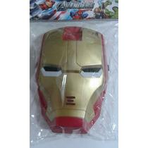 Máscara Com Luz Homem De Ferro