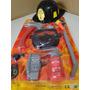 Kit Bombeiro Infantil Mascara Capacete Machado Lanterna