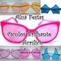 Kit 200 Óculos Brilha Escuro Acrílico P/ Festas Casamentos