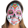 Máscara Caveira Mexicana Cruz Adulto Sulamericana