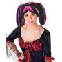Steampunk Costume - Ladies Gothic Black & Pink Raias