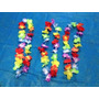 Kit C/ 100 Colar Havaiano Tecido Simples - Festa, Balada
