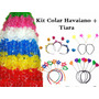 Kit C/ 20 Colar Havaiano + 15 Tiara - Festas, Baladas