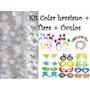 Kit C/ 30 Colar Branco + 15 Tiara + 15 Óculos - Frete Grátis
