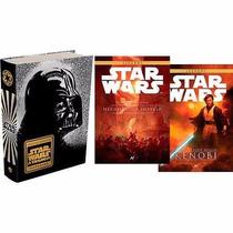 Star Wars Coleção 3 Livros - Novos Lacrados