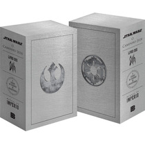 Box Livros Coleçao Star Wars (4 Livros) Original Novo Lacrad