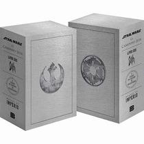 Box Coleção Star Wars 4 Livros Volumes - Darth Vader - Jedi
