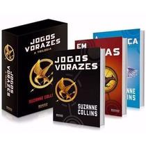Box Trilogia: Jogos Vorazes Coleção 3 Livros - Novo Lacrado