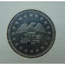 Ficha, Token 25mm, No Cash Value - Aguia Americana Inox