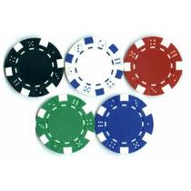 500 Fichas Poker 11,5g Sem Numeração
