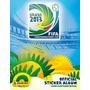 Album De Figurinhas Copa Confederações Completo! Brasil 2013