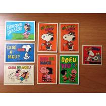 Lote De Figurinhas Do Antigo Álbum Snoopy