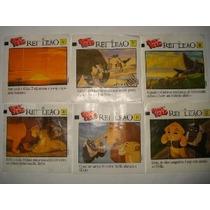 Lote 22 Figurinhas Rei Leão Chiclete Ploc ( Frete Grátis)