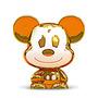 Gogos Disney Claro Mickey Dourado