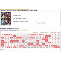 Figurinhas Album Monster High: Uma Viagem No Tempo
