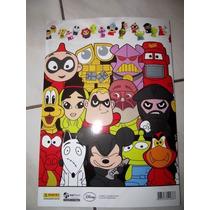 Album Disney Panini Gogos Vazio + 50 Figurinhas