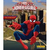 Lote Com Figurinhas Ultimate Spider-man
