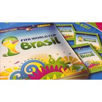 Álbum Capa Dura Copa Mundo 2014 + 200 Figurinhas Frete Gráti