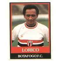 Ping-pong Futebol Cards - Nº 190 - Lorico - Botafogo-sp
