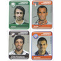 4 Figurinhas Autografadas - Campeonato Brasileiro 2011
