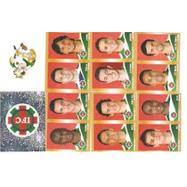 08 Figurinhas - Camp Brasileiro 2010 - Ipatinga, Completo