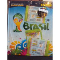 Album Capa Dura Copa Do Mundo Fifa Brasil 2014+ 25figurinhas