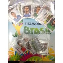 Album Da Copa Fifa 2014 Com 370 Figurinhas Soltas