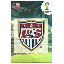 Cards - Adrenalyn Copa 2014 - Team Logo - Usa