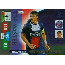 Cards Champions League 2013/14 Top Master Thiago Silva Psg