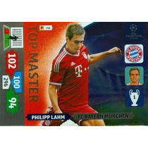 Cards Champions League 2013/14 Top Master Lahm Bayern