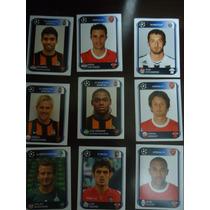 Lote 9 Figurinhas Uefa Champions League 2010-2011 Panini