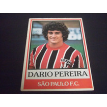Dario Pereira B - Ping Pong Futebol Cards - Nº 18 São Paulo