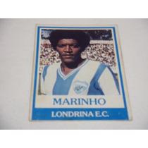 Marinho - Ping Pong Futebol Cards - Nº 321 - Londrina