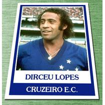 Dirceu Lopes Modelo Futebol Cards Ping Pong Cruzeiro Craques